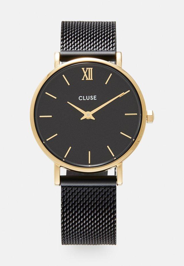 MINUIT - Watch - gold-coloured/black