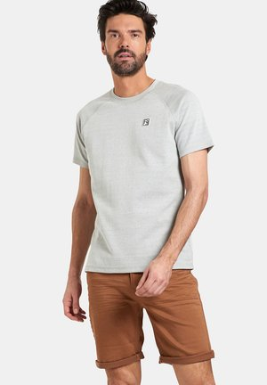 TIJN - T-shirt basic - grey