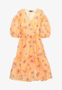 Who What Wear - WRAP DRESS - Day dress - blossom orange - 4