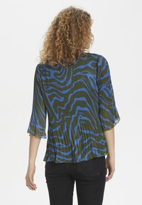 Denim Hunter - DHZITHA  - Blouse - blue zebra print