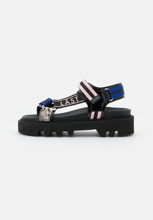 CANDY - Sandały na platformie - multicolor