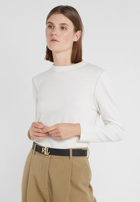 Lauren Ralph Lauren - Belt - black/tan - 1