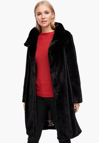 s.Oliver - TEDDY - Winter coat - black - 5