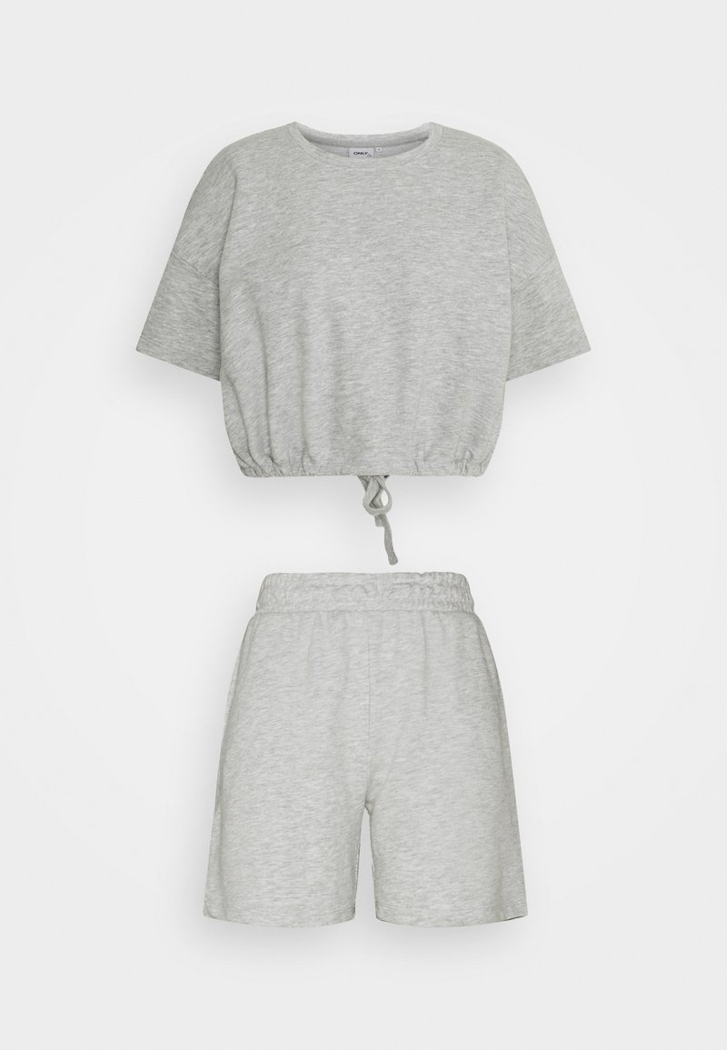 ONLY - ONLISSI LIFE SET  - Sweatshirt - light grey melange