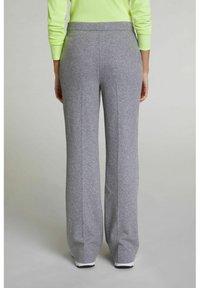 Oui - Trousers - grey melange - 2