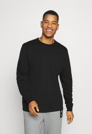 PARQUET GRAPHIC TEE - Long sleeved top - black