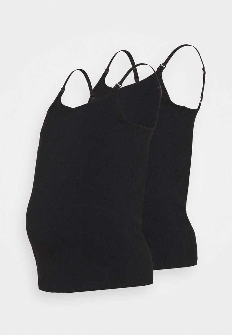 Anna Field MAMA - 2 PACK  - Top - black