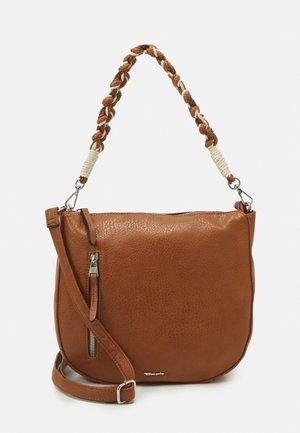 DUNJA - Handbag - cognac