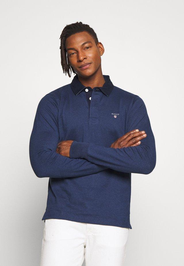 THE ORIGINAL HEAVY RUGGER - Polo shirt - marine melange
