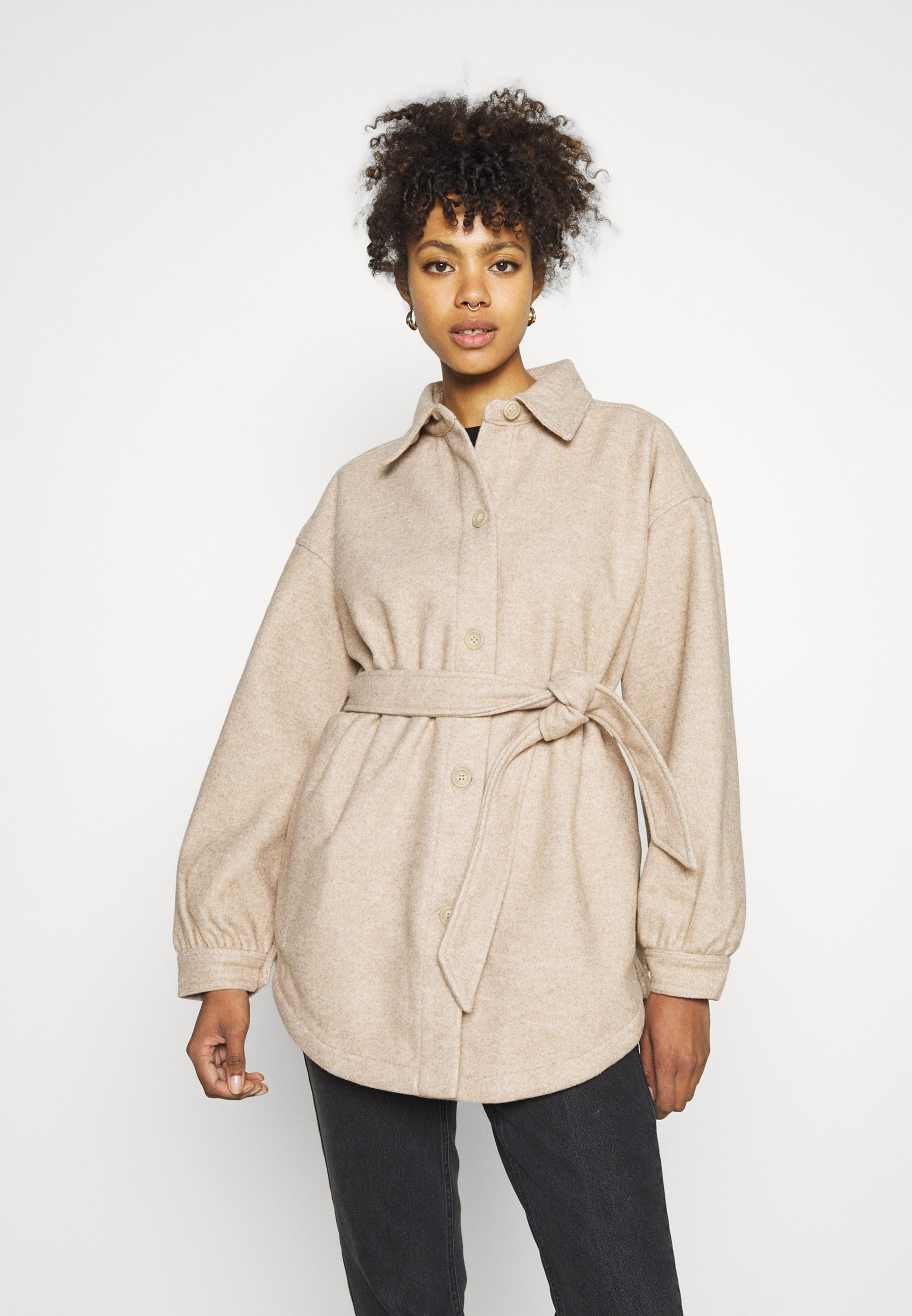 Mujer THE BELTED SHACKET - Chaqueta fina