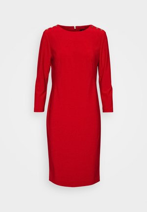 BONDED DRESS TRIM - Etuikjole - lipstick red