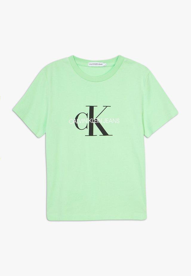 MONOGRAM LOGO UNISEX - T-shirt print - green
