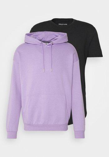 SET UNISEX - Felpa con cappuccio - lilac