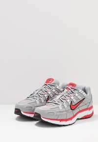 Nike Sportswear - P-6000 - Trainers - football grey/university red/black/white - 3