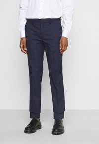 Selected Homme - SLHSLIM KYLELOGAN SET - Suit - navy blue/light blue - 4
