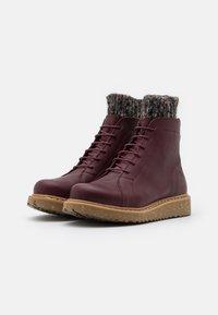 El Naturalista - PIZZARA - Platform ankle boots - soft grain brown/arena - 2