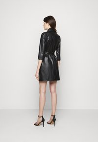 Patrizia Pepe - ABITO DRESS  - Shirt dress - nero