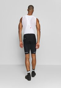 Craft - HALE BIB SHORTS  - Tights - black/white