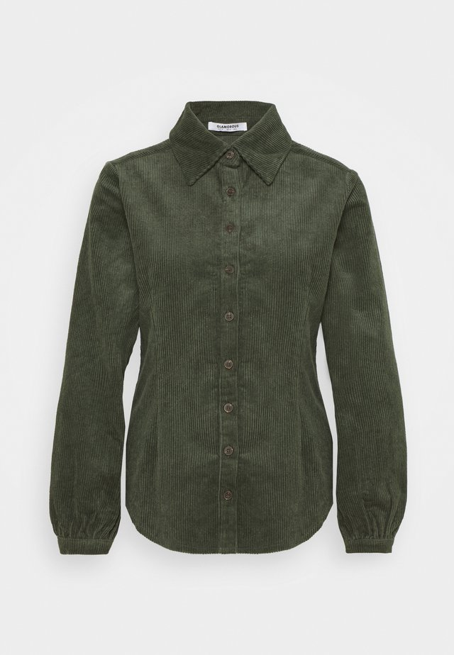 LONG SLEEVES - Overhemdblouse - dark green