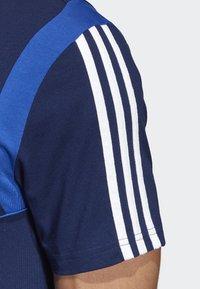 adidas Performance - TIRO 19 AEROREADY CLIMALITE - T-shirt med print - blue - 4