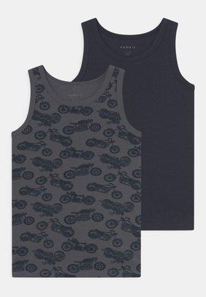 NMMTANK TURBULENCE BIKE 2 PACK - Camiseta interior - blue