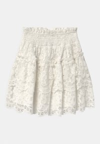 TWINSET - WOVEN  - A-line skirt - off white - 1