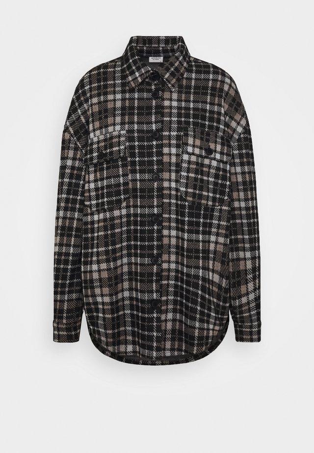 JDYCALLE - Skjorte - black/silver/white