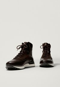 Massimo Dutti - High-top trainers - brown - 0