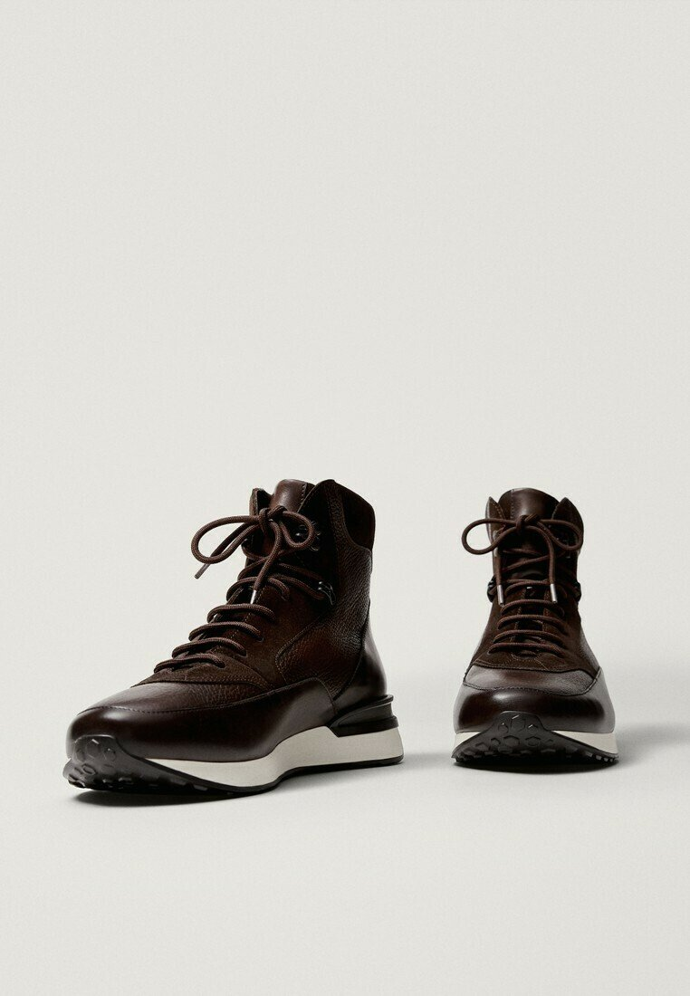 Massimo Dutti - High-top trainers - brown