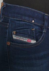 Diesel - D-EBBEY - Flared Jeans - dark blue - 5