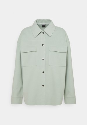 MAJKEN JACKET - Short coat - aqua gray