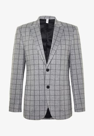 ONSELIAS GRID CASUAL - Chaqueta de traje - light grey melange