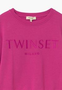 TWINSET - GIROCOLLO - Sweatshirt - fuxia scuro - 2