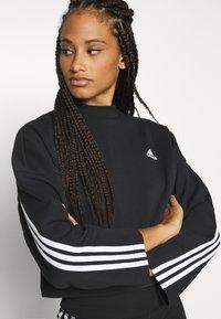 adidas Performance - CREW - Long sleeved top - black - 3