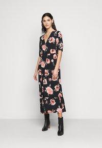 PIECES Tall - PCRIMMA LONG DRESS  - Maxi dress - black - 0