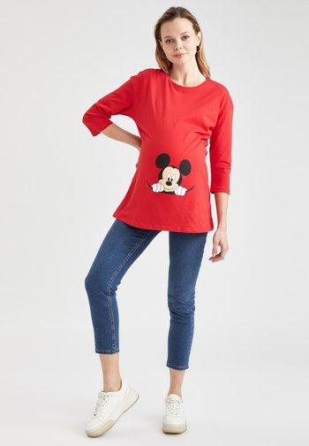 DISNEY - Maglietta a manica lunga - red