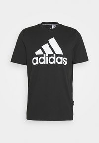 adidas Performance - ESSENTIALS SPORTS SHORT SLEEVE TEE - T-shirt con stampa - black - 3