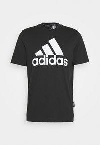 ESSENTIALS SPORTS SHORT SLEEVE TEE - Print T-shirt - black