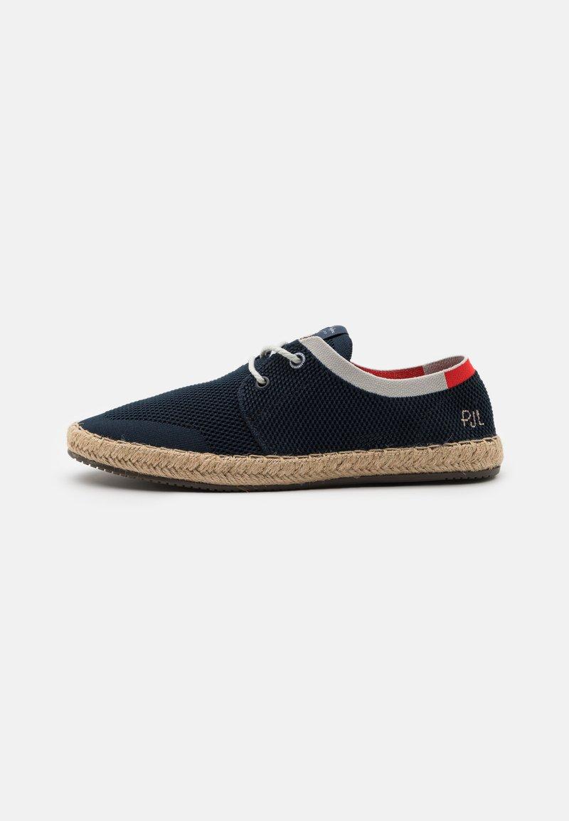 Pepe Jeans - TOURIST SAILOR - Volnočasové šněrovací boty - navy