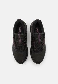 ASICS - GEL-VENTURE 8 WP - Trail running shoes - black/grape - 3