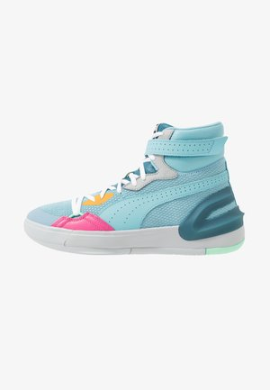 SKY MODERN EASTER - Basketball shoes - light blue