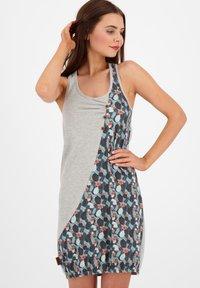 alife & kickin - Jersey dress - steel - 0