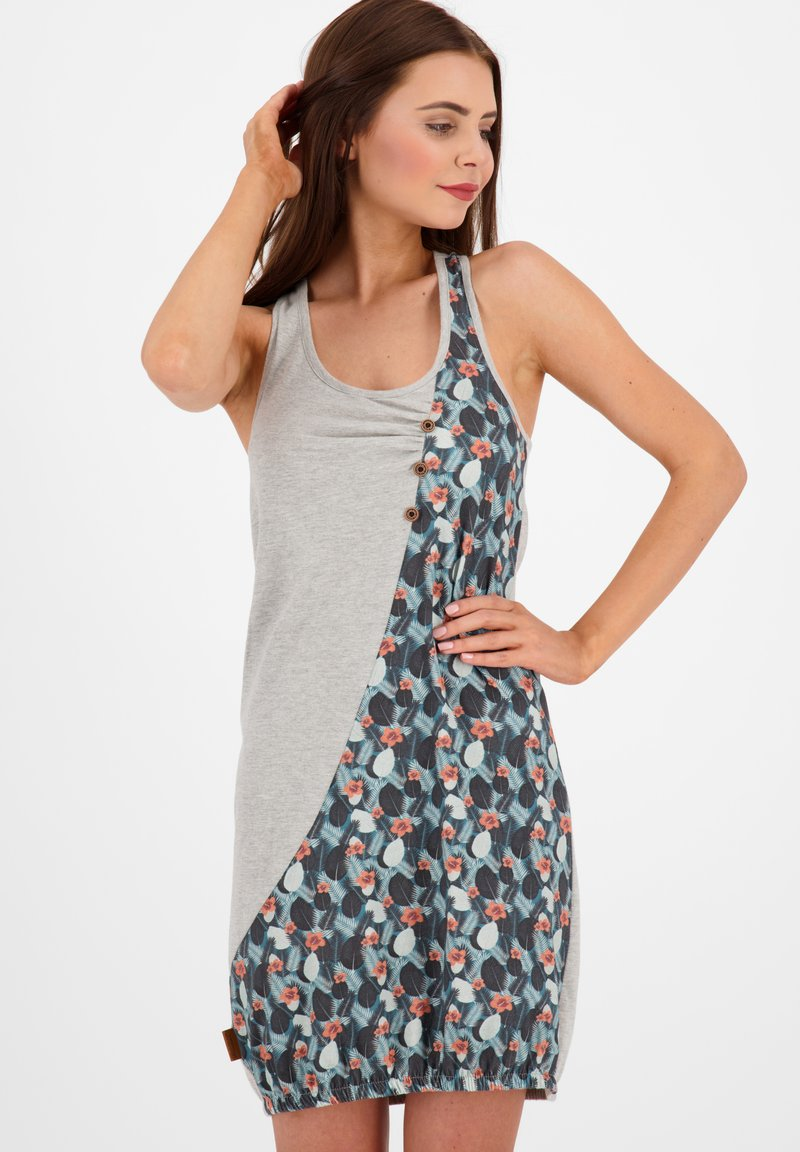 alife & kickin - Jersey dress - steel