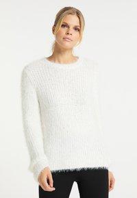 usha - Sweter - weiss - 0