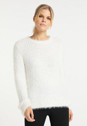 Sweter - weiss