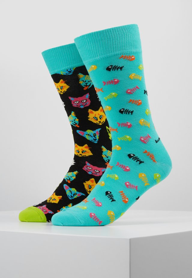 CAT GIFT BOX 2 PACK - Socks - multi
