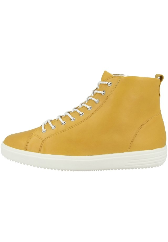 Sneakers hoog - gelb (d1470-68)