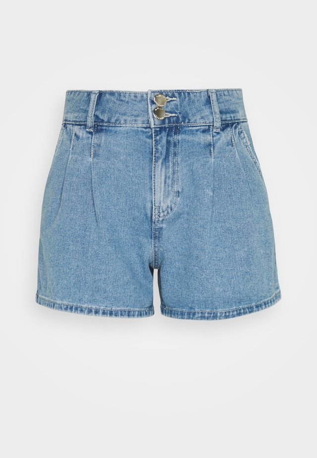 ONLDEBBIE LIFE - Shorts di jeans - light medium blue denim