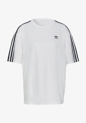 OVERSIZED ADICOLOR RELAXED - Print T-shirt - white
