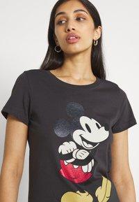 ONLY - ONLDISNEY LIFE MOUSE GLITTER  - Print T-shirt - phantom - 3